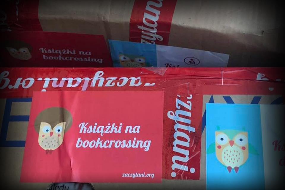 Prezent dla Bookcrossing Polska od...